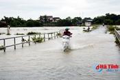 Hà Tĩnh: Dự báo mưa lớn diện rộng, đề phòng lũ quét, sạt lở đất