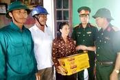 Tiếp nối các hoạt động hỗ trợ người dân Hà Tĩnh thiệt hại do bão