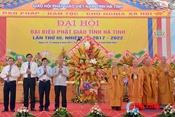 Đại hội Phật giáo tỉnh Hà Tĩnh nhiệm kỳ 2017-2022