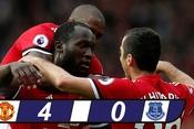 M.U thắng tưng bừng trong ngày Rooney trở lại Old Trafford