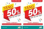 Viettel khuyến mại 50% giá trị thẻ cào di động cho người dân Hà Tĩnh