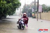 Chiều nay, áp thấp đi vào đất liền, Hà Tĩnh có mưa vừa đến mưa to