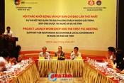 Khởi động dự án 2 triệu EUR ở Nghệ An và Hà Tĩnh