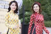 """Áo dài theo style """"Cô ba Sài Gòn"""" ăn khách trở lại"""