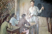 Nhà giáo Nguyễn Tất Thành - tấm gương học tập suốt