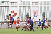 Đánh bại U15 Stoke, Ryan Giggs đánh giá cao lứa U15 PVF