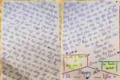 Cảm động bức thư tay gửi cô chủ nhiệm của nữ sinh Hà Tĩnh