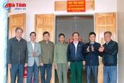 Gia đình cố GS Võ Quý hỗ trợ 150 triệu đồng làm nhà ở cho nạn nhân CĐDC