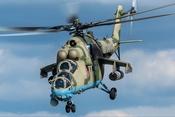 """Chùm ảnh: Sức mạnh """"siêu"""" trực thăng tấn công Mi-35M"""