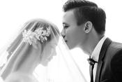 Ngắm bộ ảnh cưới lung linh của Quế Ngọc Hải với cô dâu Hà Tĩnh