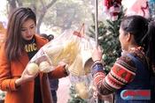 Rộn rịp mua sắm đồ trang trí Noel
