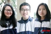 Gặp 3 học sinh Hà Tĩnh vừa giành giải nhất học sinh giỏi quốc gia