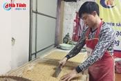 Kẹo lạc vừng - thức quà dân dã ngày Tết ở Hà Tĩnh