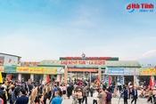 Chợ Hồng Sơn - La Giang: Điểm nhấn thương mại TX Hồng Lĩnh