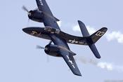 Sức mạnh của siêu phẩm máy bay tiêm kích Grumman Tigercat