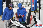 Bí mật kiểm tra chất lượng xăng E5 RON 92 ở Hà Tĩnh