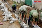 Huy động 4.000 ngày công giúp nhân dân Lộc Hà xây dựng NTM