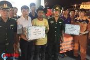 Cứu sống 13 ngư dân gặp nạn trên vùng biển Hà Tĩnh