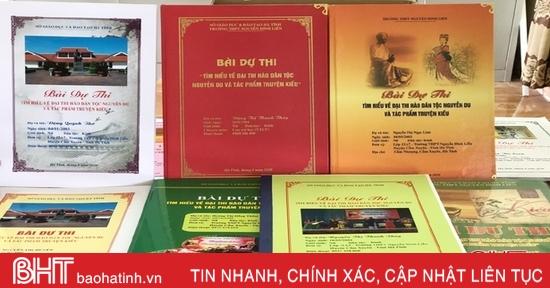 130 ngàn bài thi tìm hiểu về Đại thi hào Nguyễn Du và tác phẩm Truyện Kiều của ngành GD&ĐT Hà Tĩnh