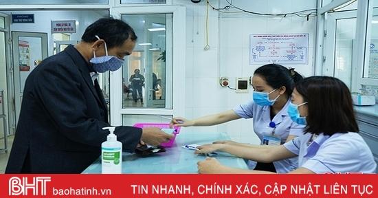 2.057 người cao tuổi thành phố Hà Tĩnh được hỗ trợ mua thẻ BHYT