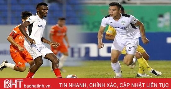 2 cầu thủ Hoàng Anh Gia Lai gia nhập Hồng Lĩnh Hà Tĩnh