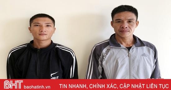 """2 đối tượng ở Hà Tĩnh bị """"tóm"""" vì giấu ma túy trong người"""