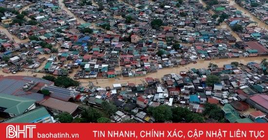 26 người thiệt mạng do bão Vamco ở Philippines