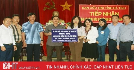 3.160 tổ chức, cá nhân ủng hộ người dân vùng lũ Hà Tĩnh gần 184 tỷ đồng