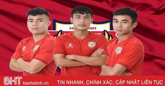 3 cầu thủ Hồng Lĩnh Hà Tĩnh về Hà Nội FC dự Giải U21 Quốc gia