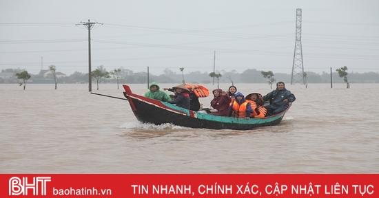 3 người chết, 1 người mất tích trong lũ lụt ở Hà Tĩnh