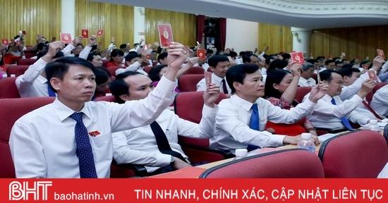 347 đại biểu chính thức dự Đại hội Đảng bộ tỉnh Hà Tĩnh nhiệm kỳ 2020 - 2025