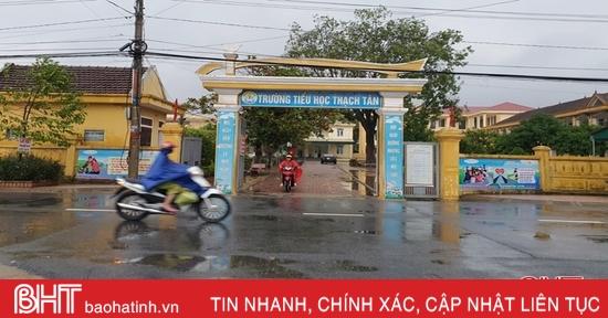77 trường học ở Hà Tĩnh nghỉ học do ảnh hưởng bão số 9