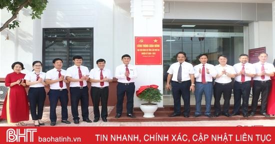 Agribank Hà Tĩnh II khai trương trụ sở mới Chi nhánh Bắc Kỳ Anh