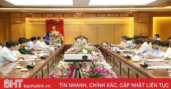 Thống nhất thành lập Văn phòng Đoàn ĐBQH, HĐND và Văn phòng UBND tỉnh Hà Tĩnh