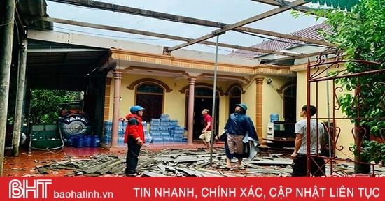 Bão số 5 gây thiệt hại cho Hà Tĩnh khoảng 30 tỷ đồng