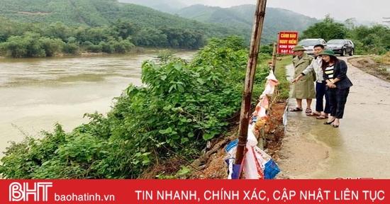 Bão số 9 gió giật mạnh, các địa phương ở Hà Tĩnh khẩn trương ứng phó