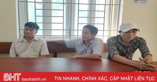 Bắt 3 đối tượng sử dụng ma túy tại nhà riêng ở thị trấn Lộc Hà