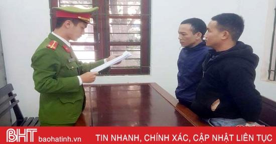 Bắt giữ nhóm đối tượng đánh bạc qua mạng xã hội ở Hương Khê