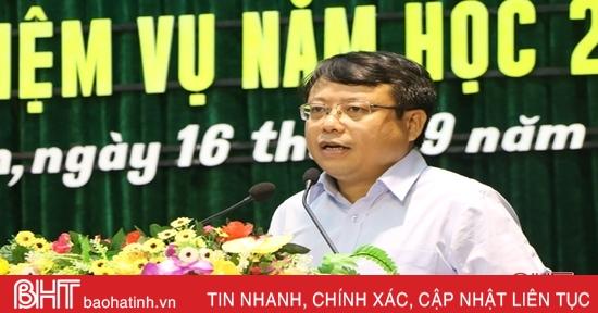 Bí thư Thành ủy Hà Tĩnh: Đổi mới giáo dục phải có trọng tâm, trọng điểm, gắn với chủ đề năm học
