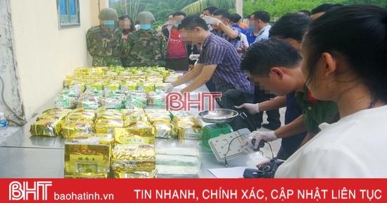 Bí thư Tỉnh ủy gửi thư khen các lực lượng chức năng Hà Tĩnh tham gia phá chuyên án ma túy lớn