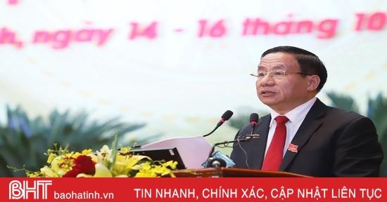 Bí thư Tỉnh ủy Lê Đình Sơn: Đại hội của trí tuệ, trách nhiệm cao, đầy tâm huyết, khát vọng phát triển