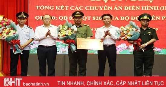 Bộ đội biên phòng Hà Tĩnh được đề xuất tặng thưởng Huân chương Chiến công hạng Nhì