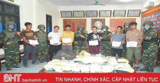 Bộ đội Biên phòng Hà Tĩnh lập công trên mặt trận phòng chống tội phạm