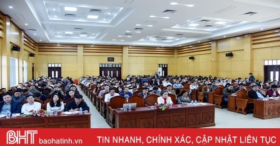 Bồi dưỡng nghiệp vụ công tác Đảng cho hơn 600 bí thư chi bộ thuộc Đảng ủy Khối CCQ&DN Hà Tĩnh