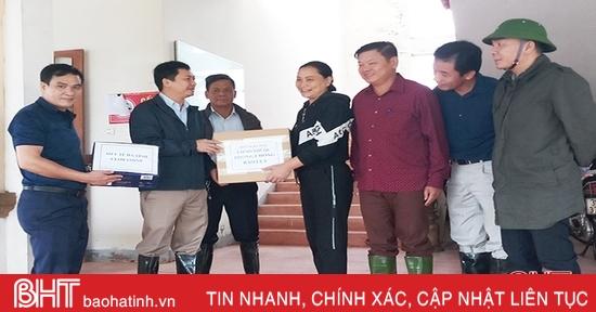 Các bệnh viện, trạm y tế ở Cẩm Xuyên tập trung khắc phục khó khăn