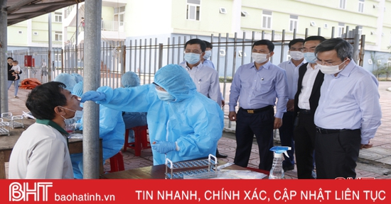 Các cơ sở khám chữa bệnh Hà Tĩnh siết chặt công tác phòng dịch Covid-19