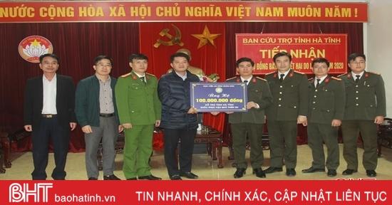 Các đơn vị, tổ chức, doanh nghiệp hỗ trợ người dân vùng lũ Hà Tĩnh tái thiết cuộc sống