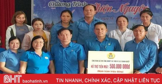 Các khu công nghiệp Bắc Ninh hỗ trợ 700 triệu đồng cho công nhân, người dân Hà Tĩnh