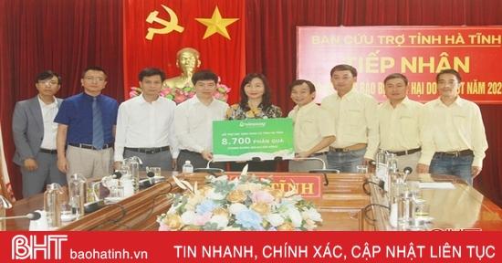 Các tổ chức, doanh nghiệp tiếp tục hỗ trợ Nhân dân Hà Tĩnh sau lũ
