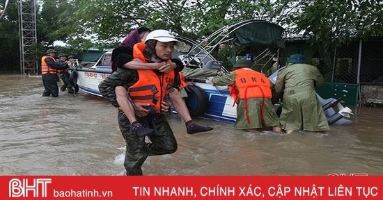 Cẩm Xuyên thiệt hại hơn 1.100 tỷ đồng do trận lũ lụt lịch sử
